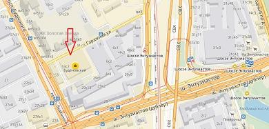 Вход в КЦ Буденовский с Гаражной улицы